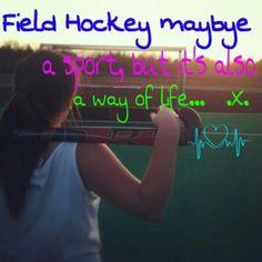 Hockey, misschien een sport, maar ook een manier van leven...