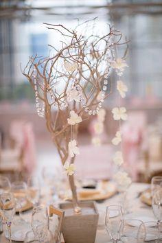 Manzanita Branch Centerpiece Wedding by CreativeUniqueBoutiq