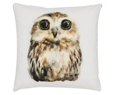 Kissenhülle Little Owl Owl, Bird, Animals, Chair Pads, Home Accessories, Branding, Animaux, Owls, Birds