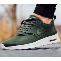Nike Air Max Thea Premium Leather Sneakers •The Nike Air Max Thea Women's Shoe is equipped with premium lightweight cushioning and a sleek, low-cut profile for lasting comfort and understated style. •Women's size 8, true to size. •New in box •NO TRADES/PAYPAL/MERC/HOLDS/NONSENSE. Nike Shoes Sneakers