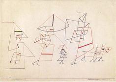 Paul Klee, Familienspaziergang, 1930