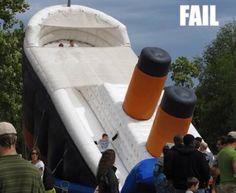 Omg titanic slide... Must do!!!
