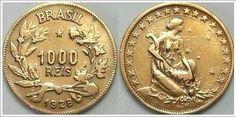 Moeda brasileira de 1000 réis de 1928