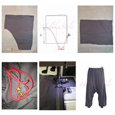 Many sisters wear jeans, and many of us also wear so called harem pants. We sew here something in between of possible models.  HelikaStyle Pants or bloomers.  Sewing tutorial and pattern explanation. Sew with HelikaStyle!