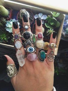 Juwelen Boho Ring Schmuck Ring Jewerly Jewerly Halskette Frauen Juwelen Boho Ring Schmuck Ring Jewerly Jewerly Halskette Frauen The post Juwelen Boho Ring Schmuck Ring Jewerly Jewerly Halskette Frauen appeared first on Schmuck ideen. Hippie Jewelry, Cute Jewelry, Jewelry Rings, Jewelry Accessories, Jewlery, Grunge Jewelry, Stone Jewelry, Hand Jewelry, Cheap Jewelry