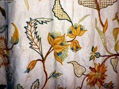 """Милые сердцу штучки: Техники вышивания. Часть 21: """"Вышивка Crewel и Якобинская вышивка"""""""