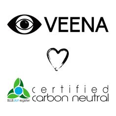 VEENA is certified carbon neutral through BLUEdot! http://eyesofveena.com/2016/03/30/veena-partners-with-bluedot-to-become-carbon-neutral/  Read the full report : http://static1.squarespace.com/static/53fbb928e4b0eafa4734317f/t/56f06ef2356fb017418908ba/1458597619190/Veena+Study+032116+Revised.pdf