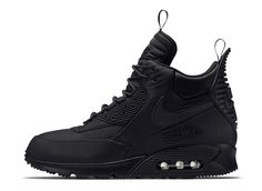 "Nike Air Max 90 Winterized Sneakerboot ""Triple Black"" - EU Kicks: Sneaker Magazine"