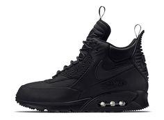 "Nike Air Max 90 Winterized Sneakerboot ""Triple Black"" - EU Kicks: Sneaker Magazine"