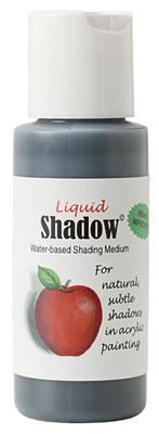 Created by decorative artist Kerry Trout, Liquid Shadow is a water-based medium that enables you to make shadows with ease. Available at artistsclub.com