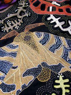 Talented South African artist Tamar Mason's work. Detail: Western Cape landscape
