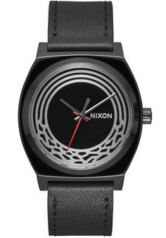 Nixon Time Teller Leather Star Wars Kylo Black (A1069SW2444)