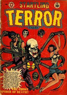 Startling Terror Tales #comics #horror