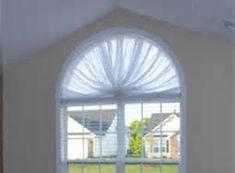How To Sew A Curtain For An Oval Window In 2019 Curtains