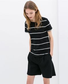 Image 3 of ORGANIC COTTON T-SHIRT from Zara