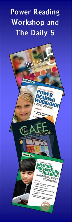 Have you ever wondered about the difference between Power Reading Workshop and The Daily 5? In this blog post, Laura Candler compares and contrasts the two programs to highlight the features of both instructional models.