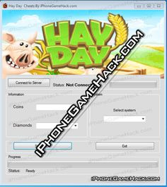 Hay Day Cheats Hack Coins Diamonds for iPhone Android Unlimited - http://iphonegamehack.com/hay-day-cheats-hack/ Hay Day Cheats Hack Hey folks, do you know this amazing game is very popular last few months ? So our team dedicated to develop new Hay Day Hack Tool with few features like unlimited amount of Coins and unlimited amount od Diamonds will be able to add using this Hay Day Cheats for iphone,android...