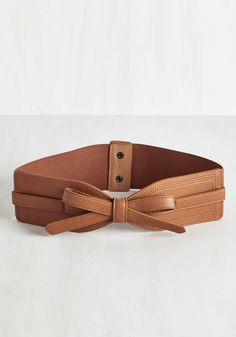 Best of Boston Belt in Brown - Tan, Solid, Bows, Better, Faux Leather, Work, Press Placement, Spring, Store 1