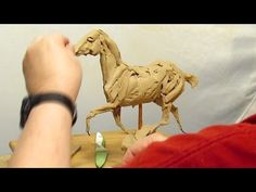 Clay To Bronze: Sketch of a Horse Running in Clay Today