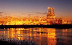 Total Refinery, Port Arthur, Texas USA