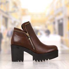 Ghete Dama Maro Cu Fermoar Cod: 405p Character Shoes, Dance Shoes, Booty, Fashion, Dancing Shoes, Moda, Swag, Fashion Styles, Fashion Illustrations