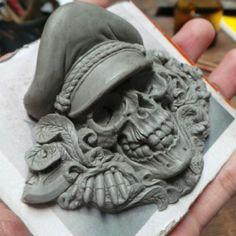 Sculptures In Progress on Behance