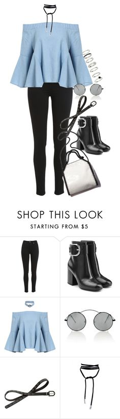 """""""Sem título #1268"""" by oh-its-anna ❤ liked on Polyvore featuring Alexander Wang, STELLA McCARTNEY, Spektre and Red Herring"""