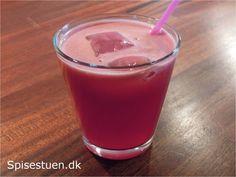 Rød juice 4 - granatæble og appelsin