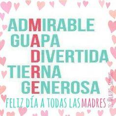FELIZ DIA DE LA MADRE. ..HAPPY MOTHER'S DAY ♡❤️❤️❤️❤️❤️