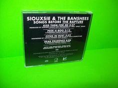 Siouxsie & The Banshees – Songs Before The Rapture PROMO CD w Insert 4 Tracks #GothicDarkwavePostRock #Siouxsie&TheBanshees