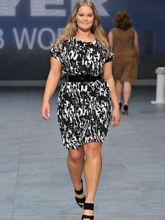 """Plus size fashion"" i.e. normal size fashion @ Sydney Fashion Festival"