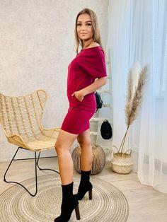Športové šaty VSB KARA bordo Kara, Sweaters, Dresses, Fashion, Vestidos, Moda, Fashion Styles, Sweater, Dress