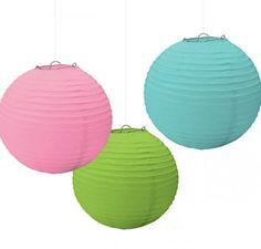 Last minute wedding ideas: paper lanterns
