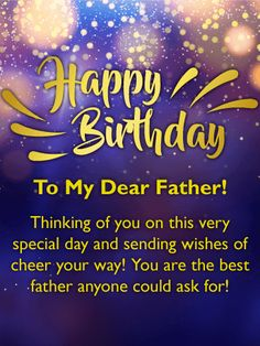 Birthday Quotes For Father From Son Happy Birthday Quotes Wishes