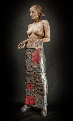 Marek Zyga, ceramic artist. Poland. 6 sculptures at the gallery this moment - www.jonghART.be
