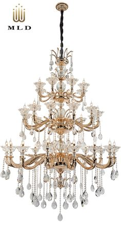 Luxury hanging chandelier in gold - collection Sugar Dream Gold Collection, Luxury Lighting, Luxury, Hanging, Light, Hanging Chandelier, Lights, Chandelier, Ceiling Lights