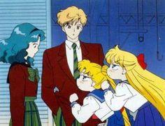 Michiru, Haruka, Usagi and Minako