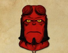 """Check out new work on my @Behance portfolio: """"Hellboy. Proposal Color"""" http://be.net/gallery/40753295/Hellboy-Proposal-Color"""