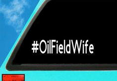 Oil Field Wife, Alberta Oil Sticker, Alberta Wife Decal, Alberta Decal Decal Approximately 9 Inches wide by 2 Inches Tall Decal can be used on Oilfield Wife, Mermaid Wall Art, Oil Field, Transfer Paper, 6 Years, 2 In, Vinyl Decals, Surface, Cricut