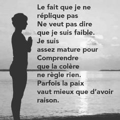 Cela s'appelle éteindre son ego 😊 - Vie Positive, Strong Words, Real One, Affirmations, Reflection, Zen, Memes, Quotes, Spirit