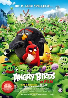 Additional designs: (view gallery)   Angry Birds (2016)
