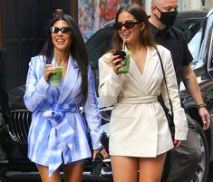 """TikTok-ster Addison over vriendschap met 20 jaar oudere Kourtney Kardashian: """"We hebben geen seks, maar slapen wel samen""""   Celebrities   hln.be Kourtney Kardashian, Gossip News, New Love, Wrap Dress, Street Style, Shirt Dress, Shirts, Outfits, Shopping"""