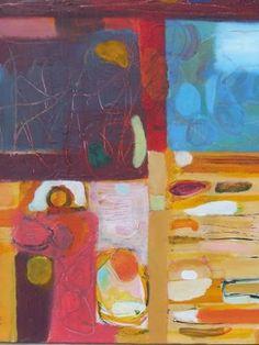 "Saatchi Art Artist Sarah Stokes; Painting, ""looking for dreamland"" #art"