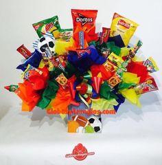 Regalo para hombre, Regalo de dulces, Arreglo de dulces, Arreglo para toda ocasio, Arreglo de cumpleaños, arreglo de globos monterrey