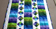 Ideas Patchwork Patterns Baby Jelly Rolls For 2019 Batik Quilts, Jellyroll Quilts, Lap Quilts, Strip Quilts, Small Quilts, Amish Quilts, Colchas Quilting, Quilting Projects, Quilting Designs