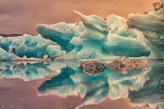 Icebergs by PatiMakowska on DeviantArt