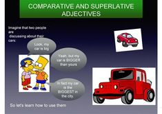 Use of comparative and superlative forms