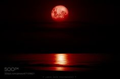 Photograph blood moon by Jorge Capo on 500px
