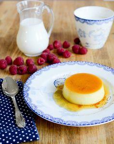Crème renversée au caramel ( umgekippter Vanillepudding mit Karamell ) | Französisch Kochen by Aurélie Bastian