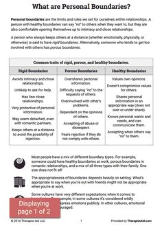 Boundaries Worksheet Therapy - For here are a couple of worksheets that handle boundaries and the way that they can impact the life of one. Therapy Worksheets, Tracing Worksheets, Printable Worksheets, Social Work, Social Skills, Mental Health Counseling, Health Education, Physical Education, Enterprise Application Integration